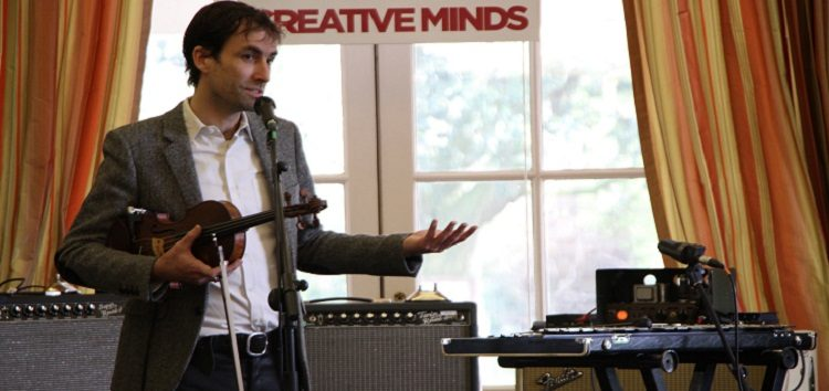 Andrew Bird, American musician, songwriter, and multi-instrumentalist
