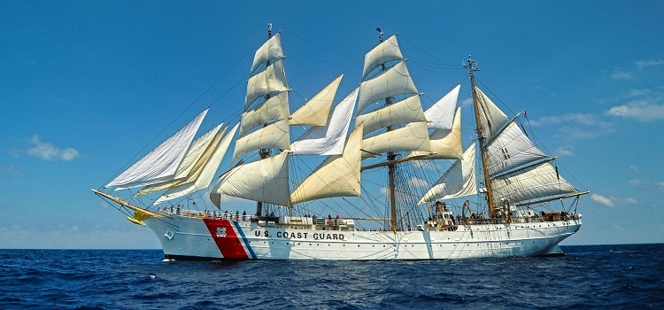 Public Tours For Coast Guard Cutter Eagle In Dublin U S