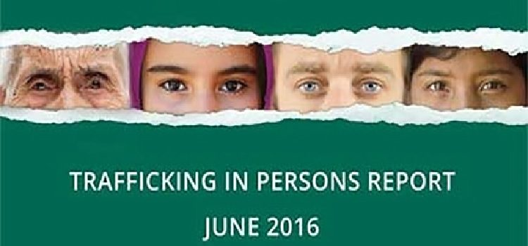 Trafficking in Persons Report 2016. - State Dept Image